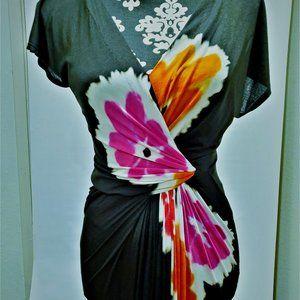 Donna Karan Midi Twist Dress